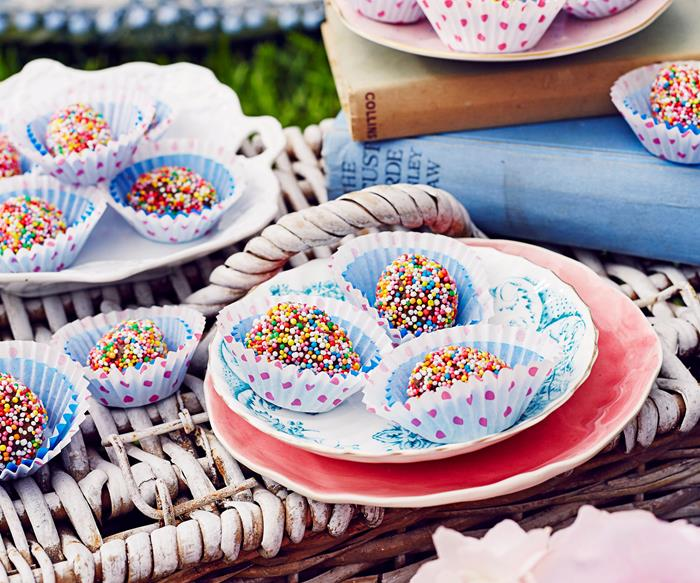 chocolate freckle easter egg recipe