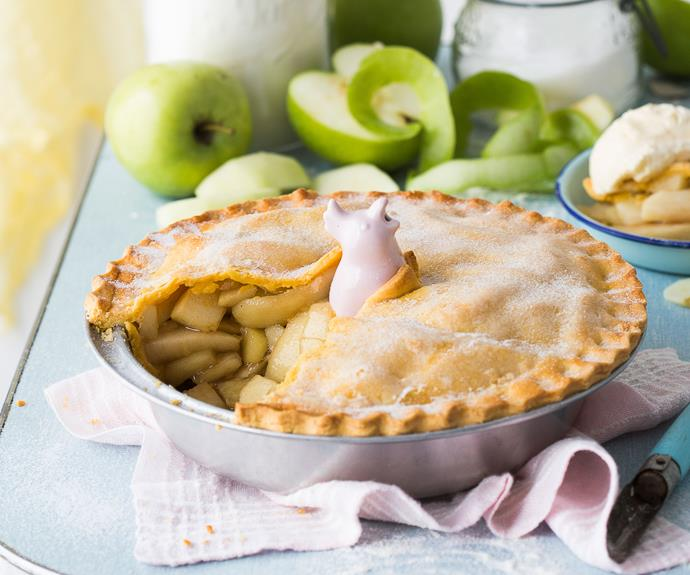 "**[Apple pie](https://www.womensweeklyfood.com.au/recipes/apple-pie-recipe-15483|target=""_blank"")**  You'll understand the origins of the saying ""easy as apple pie"" after you make this delicious version of the old favourite. The satisfaction of knowing you made it from scratch will be surpassed only by the taste."