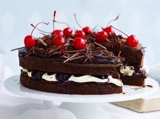 black forest mud cake