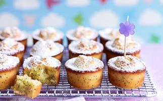 Mandarin and Poppy Seed Friands