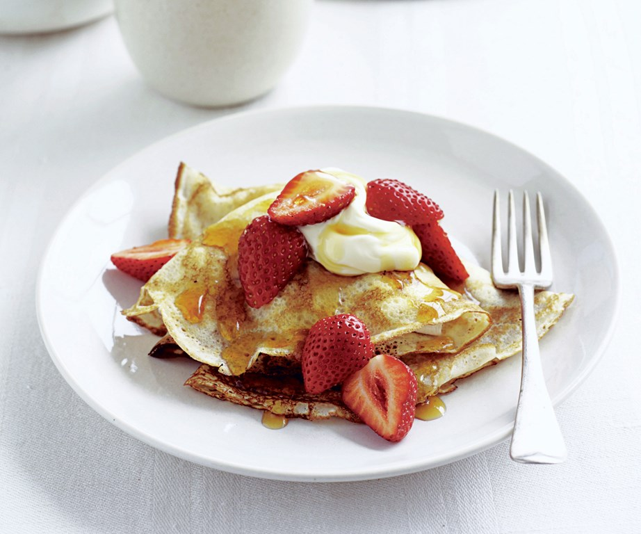 "With this reliable recipe for classic French [crèpes](https://www.womensweeklyfood.com.au/recipes/classic-crepes-23859|target=""_blank"") within reach, you'll never wonder what to make for breakfast again."