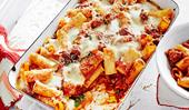 Pasta al forno - Italian sausage pasta bake