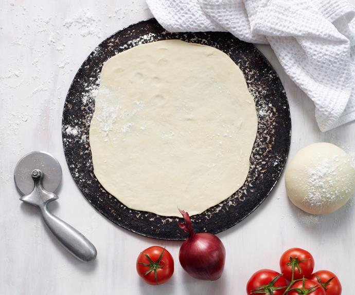 "[Classic pizza dough](http://www.foodtolove.com.au/recipes/classic-pizza-dough-5779|target=""_blank""): Making your own pizza dough or bread is easier than you think. Our Test Kitchen experts show you how to get perfect results every time. Gluten-free? Try [this version](http://www.womensweeklyfood.com.au/recipes/gluten-free-pizza-dough-28684
