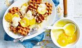 Waffles à la suzette