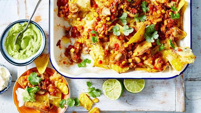 vegie nachos