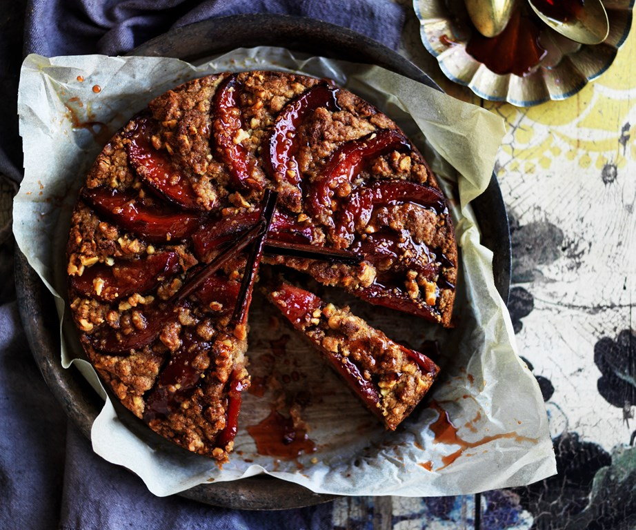 """This sweet and syrupy [poached quince and chestnut cake](https://www.womensweeklyfood.com.au/recipes/poached-quince-and-chestnut-cake-5736
