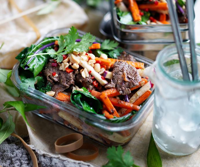 "**[Tamarind beef stir fry with kohlrabi salad](https://www.womensweeklyfood.com.au/recipes/tamarind-beef-stir-fry-recipe-31171|target=""_blank"")**  This fragrant beef stir fry recipe similar to a [Thai beef salad](https://www.womensweeklyfood.com.au/recipes/thai-beef-salad-22500