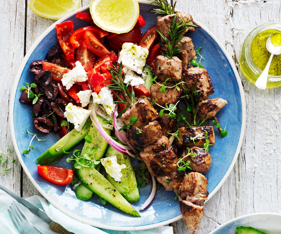 "Our **[lamb kebabs on rosemary skewers](https://www.womensweeklyfood.com.au/recipes/lamb-kebabs-on-rosemary-skewers-15433|target=""_blank"")** bring that perfect herb-y punch."