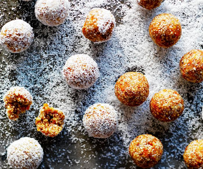Apricot bliss balls recipe
