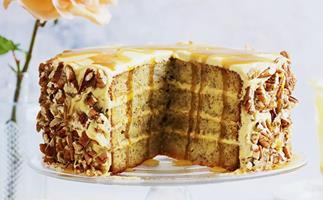 Beautiful butterscotch desserts