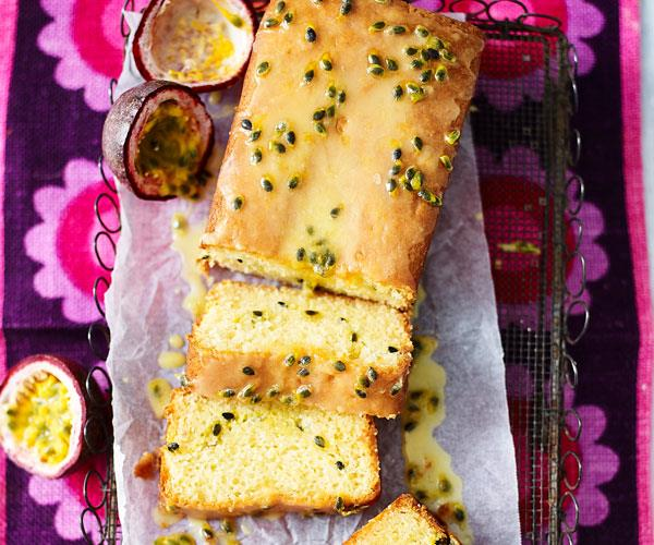 """**[Passionfruit teacake](https://www.womensweeklyfood.com.au/recipes/passionfruit-teacake-31294