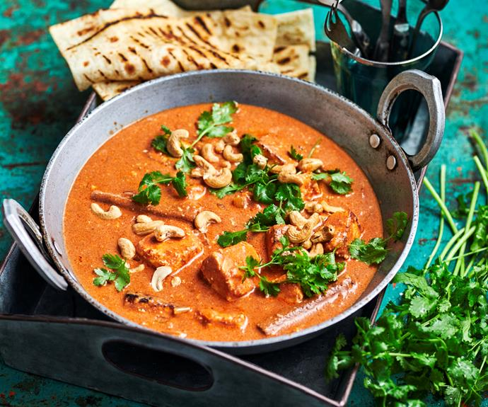 "**[Butter chicken](https://www.womensweeklyfood.com.au/recipes/butter-chicken-13724|target=""_blank"")**  *Gluten-free - contains dairy*"