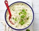 Cauliflower 'rice' pilaf