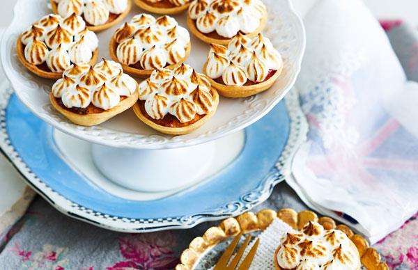 meringue topped tarts