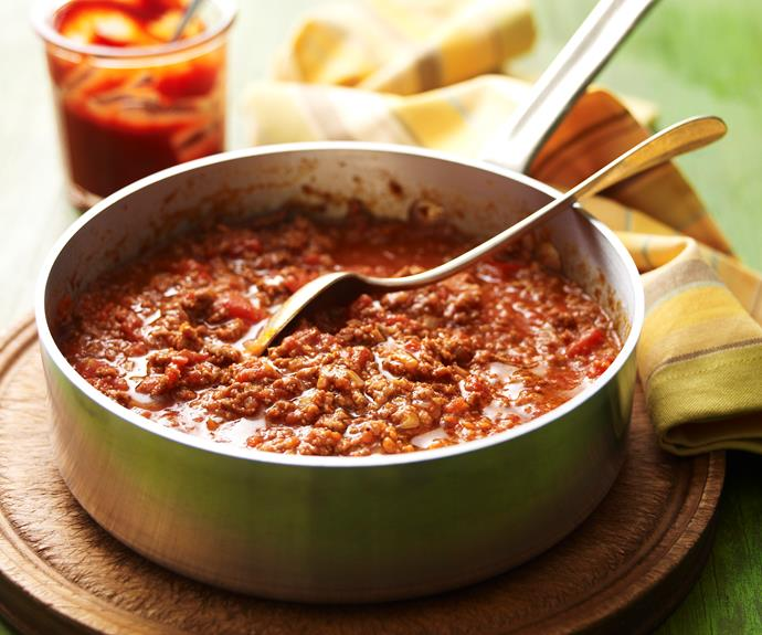 """This [savoury mince](https://www.womensweeklyfood.com.au/recipes/savoury-mince-19251 target=""""_blank"""") is so tasty and versatile."""