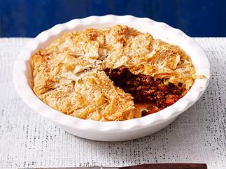 Savoury mince pie