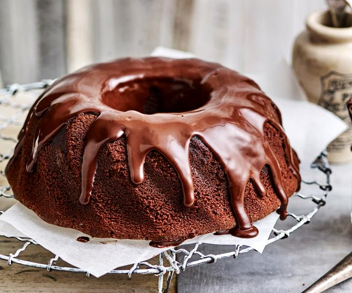 "You'll love this super moist [chocolate sour cream cake](https://www.womensweeklyfood.com.au/recipes/chocolate-sour-cream-cake-9502|target=""_blank"") topped with dark chocolate sour cream ganache."