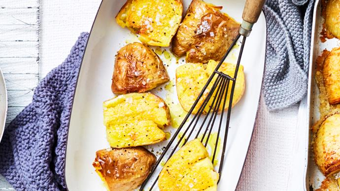 Salt and vinegar roast potatoes