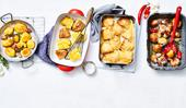 4 ways with roast potatoes