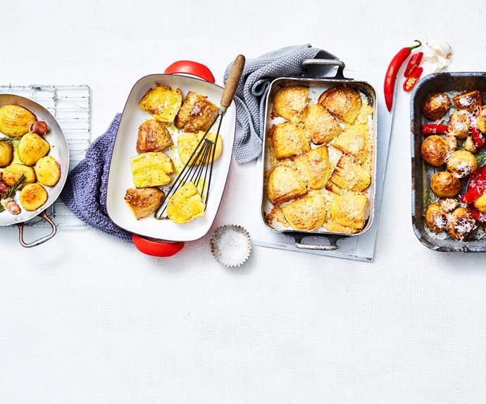 4 ways with roast potatoes