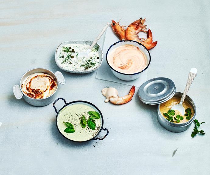 Seafood sauces