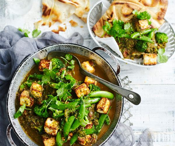 "**[Broccoli and paneer saag curry](https://www.womensweeklyfood.com.au/recipes/broccoli-and-paneer-saag-curry-31492|target=""_blank"")**  This fragrant paneer (cheese) and broccoli saag is packed full of healthy greens for a rich, full-flavoured Indian dish."