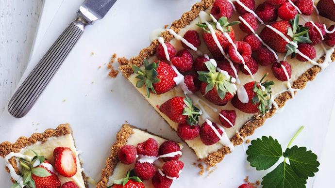 australia day cheesecake