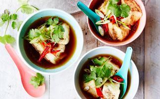 Japanese-style smoky chilli tofu