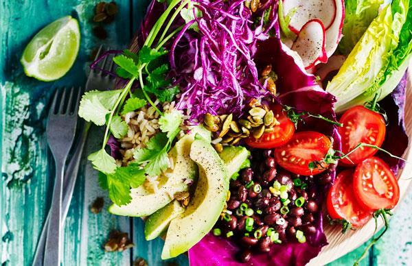 Burrito salad bowl