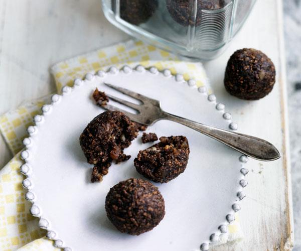 Choc-honey balls