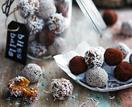 Apricot and tahini bliss balls