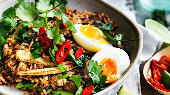 Vegetarian egg recipes for dinner