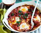 Turkish eggs (Shakshuka)