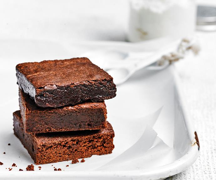 """Who could ever resist the lure of a [fudgy, chewy brownie](https://www.womensweeklyfood.com.au/brownie-recipes-29727