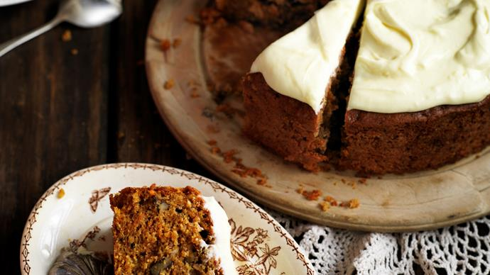 Our best carrot cake recipes for afternoon tea