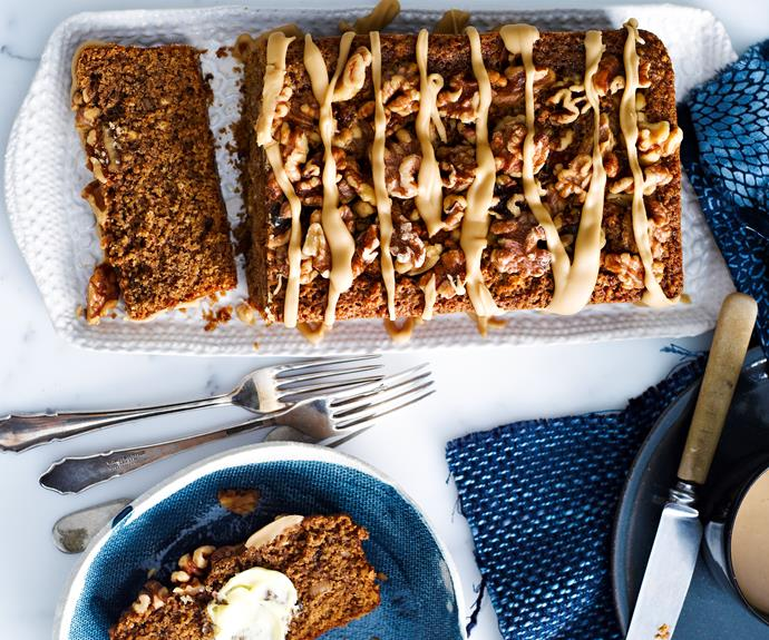 "Make a delicious [coffee & walnut loaf cake](https://www.womensweeklyfood.com.au/recipes/coffee-walnut-loaf-14153|target=""_blank"") with this easy recipe, perfect for everyday baking and occasions"