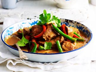 panang lamb curry