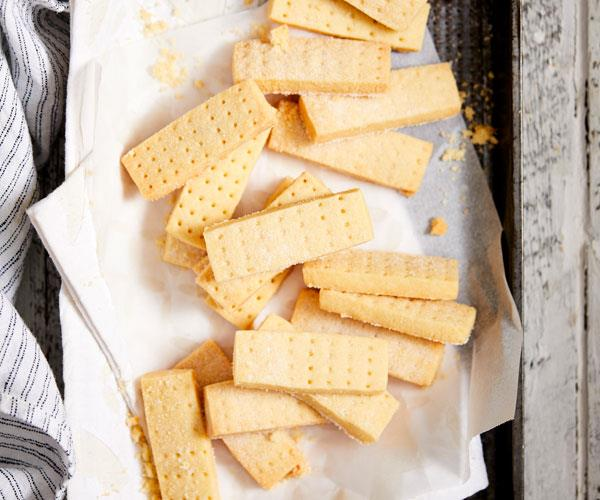 "**[Shortbread fingers](https://www.womensweeklyfood.com.au/recipes/shortbread-fingers-31618|target=""_blank"")**  Irresistibly crumbly and buttery, shortbread has been a year-round favourite biscuit for centuries."