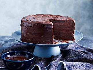 Six-layer chocolate cake