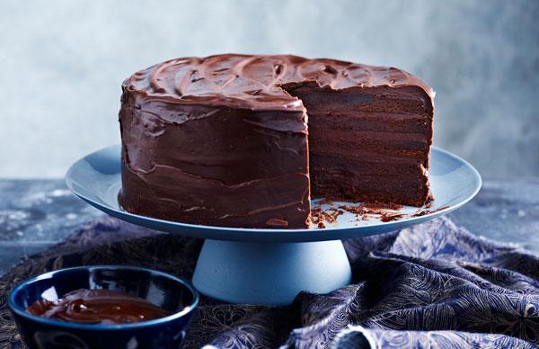 Indulgent chocolate cakes