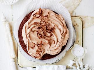 moist chocolate and coconut cake