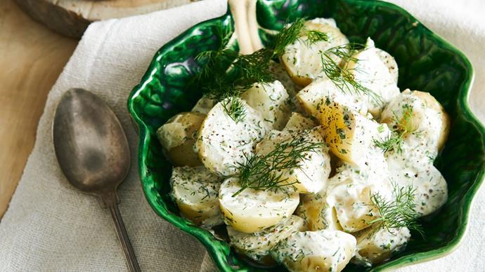 Hayden Quinn's Jax's herby potato salad