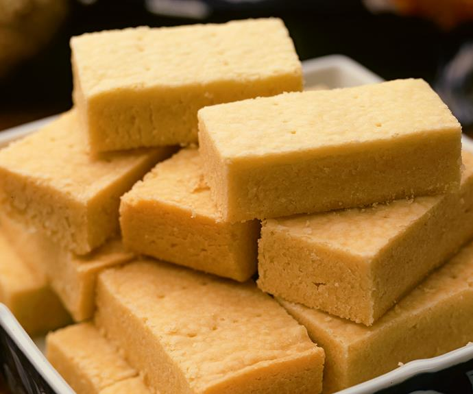 """**[Vintage edition: Melt 'n' Mix shortbread](https://www.womensweeklyfood.com.au/recipes/melt-n-mix-shortbread-31702