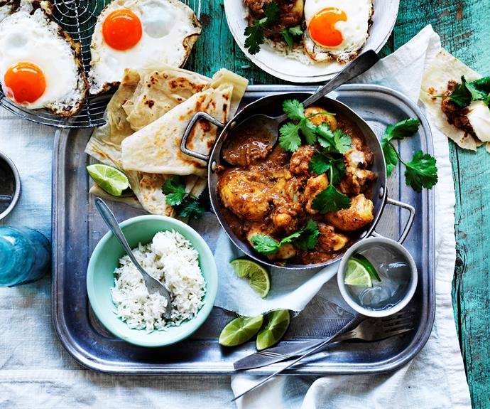 """Add some Malaysian flavour to your menu with this addictively [spicy potato and egg curry](https://www.womensweeklyfood.com.au/recipes/potato-and-egg-rendang-4851