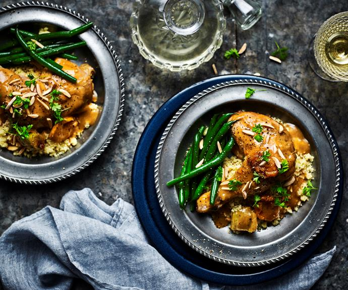"**[Slow-cooker apricot chicken](https://www.womensweeklyfood.com.au/recipes/apricot-chicken-31723|target=""_blank"")**  This classic chicken dish is cooked low and slow in the slow cooker to ensure full flavours and melt-off-the-bone meat."