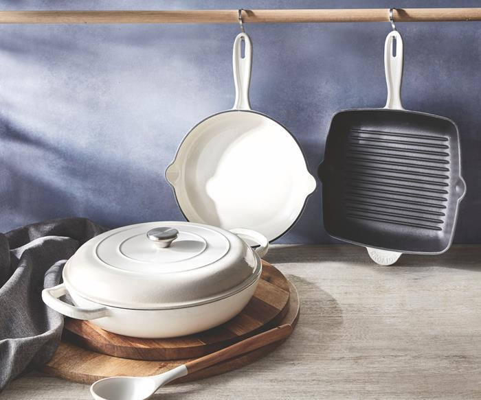Aldi cast iron cookware on sale this weekend