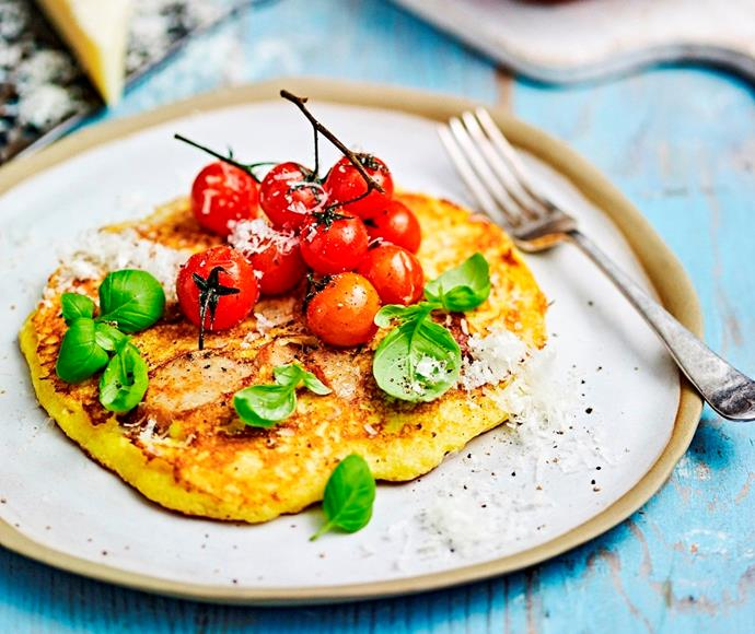 """**[Easy polenta & sausage pancakes](https://www.womensweeklyfood.com.au/recipes/easy-polenta-and-sausage-pancakes-31772
