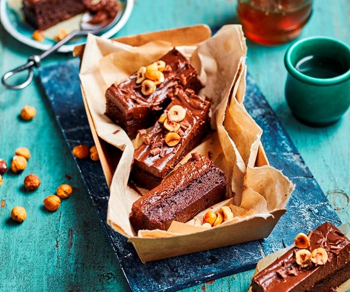 """**[Fudgy sweet potato brownies](https://www.womensweeklyfood.com.au/recipes/fudgy-sweet-potato-brownies-31775