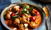 Lamb korma meatball curry