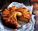 Pear & ginger upside-down cake